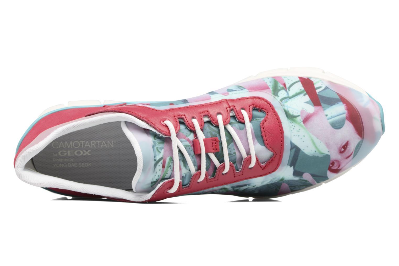 Sneakers Geox D SUKIE E D62F2E Rosso immagine sinistra