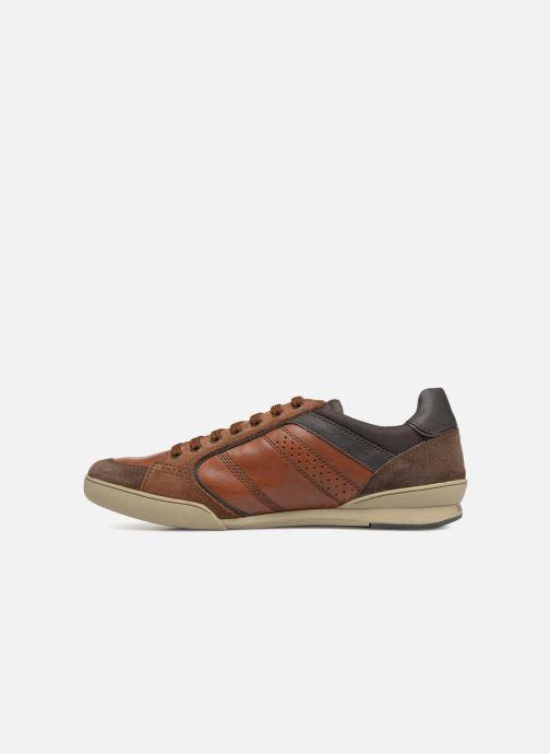 Sneaker Geox U KRISTOF A U620EA braun ansicht von vorne