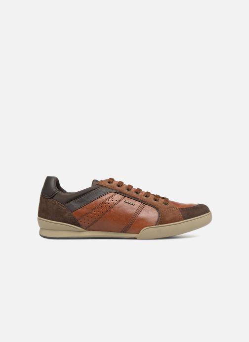 Sneaker Geox U KRISTOF A U620EA braun ansicht von hinten