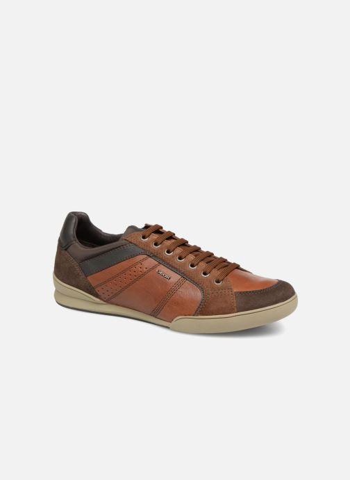 Sneaker Geox U KRISTOF A U620EA braun detaillierte ansicht/modell