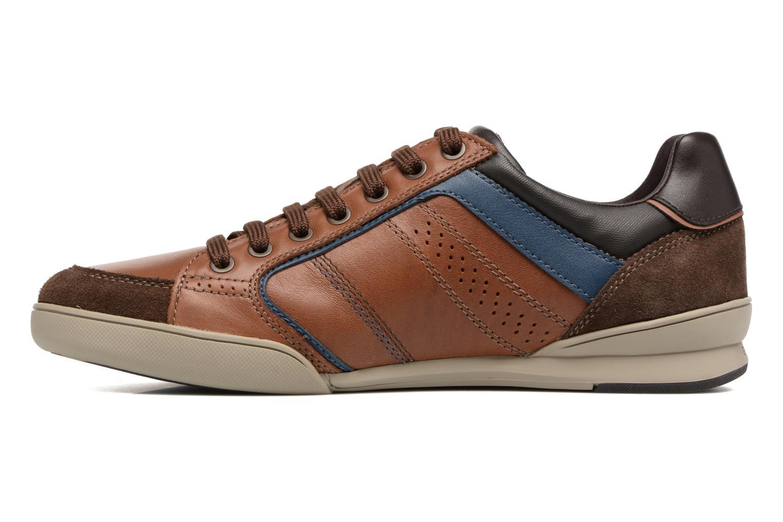 Sneakers Geox U KRISTOF A U620EA Bruin voorkant
