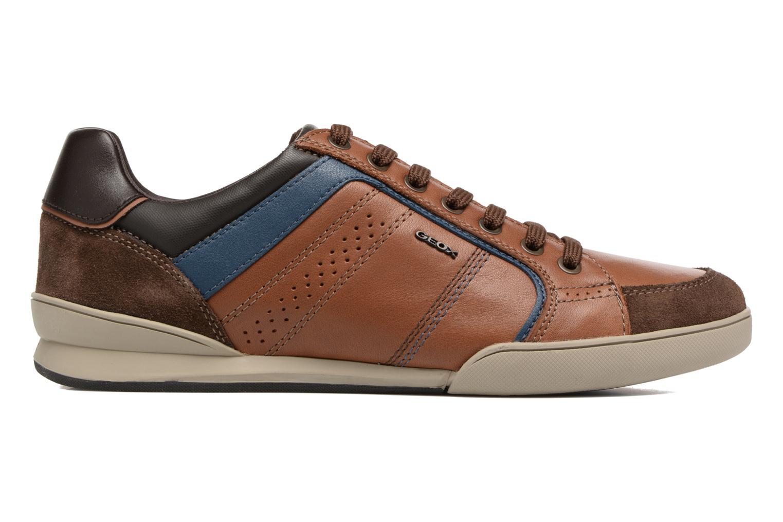 Sneakers Geox U KRISTOF A U620EA Bruin achterkant
