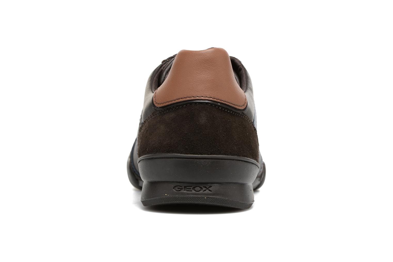 Sneakers Geox U KRISTOF A U620EA Bruin rechts