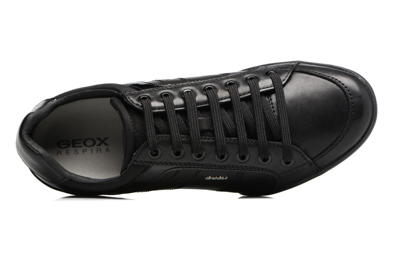 Sneakers Geox U KRISTOF A U620EA Zwart links