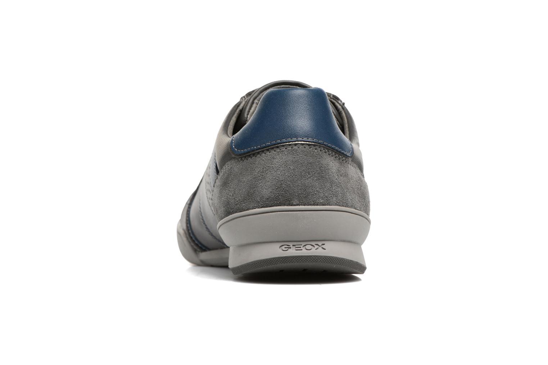 Sneakers Geox U KRISTOF A U620EA Grijs rechts
