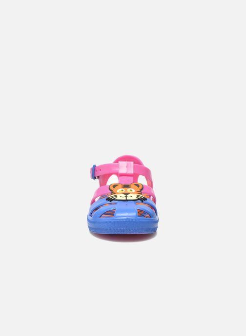 Sandalen Colors of California Jelly sandals TIGER rosa schuhe getragen
