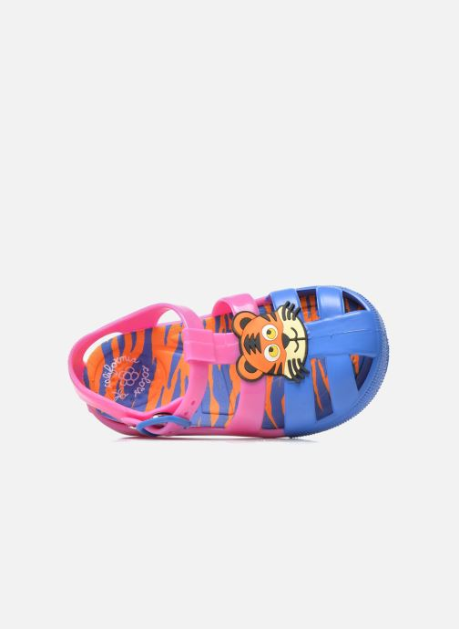 Sandalias Colors of California Jelly sandals TIGER Rosa vista lateral izquierda