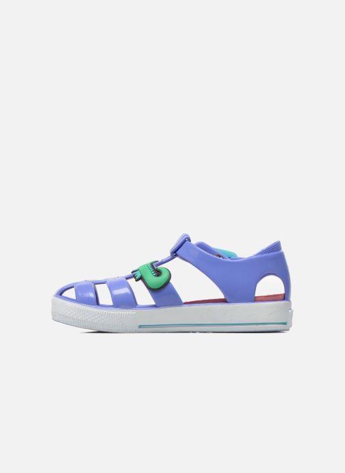 Sandales et nu-pieds Colors of California Jelly sandals CROCO Violet vue face