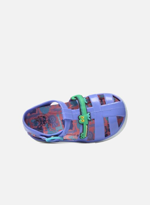 Sandals Colors of California Jelly sandals CROCO Purple view from the left