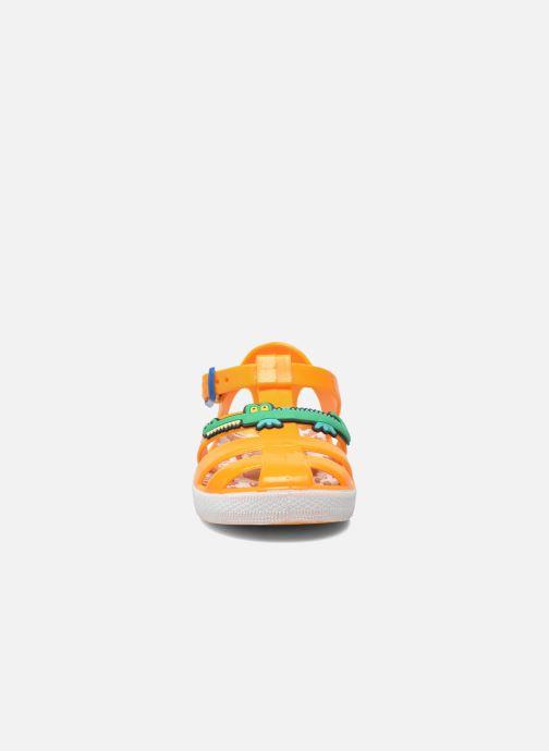 Sandali e scarpe aperte Colors of California Jelly sandals CROCO Arancione modello indossato