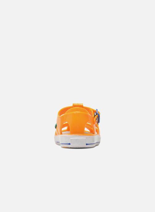 Sandali e scarpe aperte Colors of California Jelly sandals CROCO Arancione immagine destra