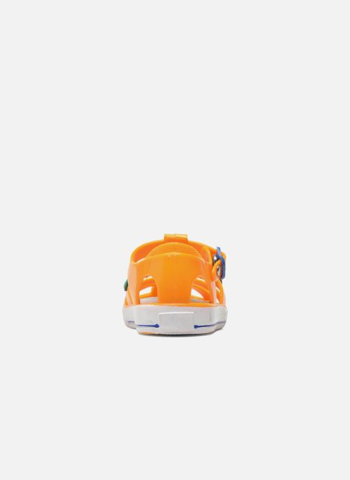 Sandalias Colors of California Jelly sandals CROCO Naranja vista lateral derecha