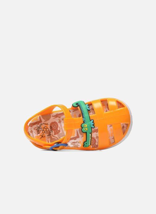Sandalias Colors of California Jelly sandals CROCO Naranja vista lateral izquierda