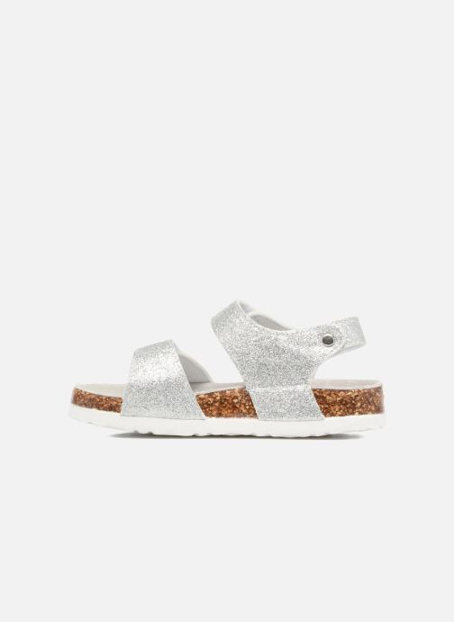 Sandalen Colors of California Bio Laminated Sandals Zilver voorkant