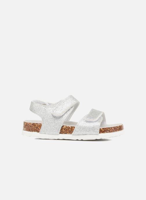 Sandales et nu-pieds Colors of California Bio Laminated Sandals Argent vue derrière