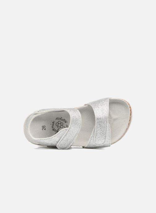 Sandalias Colors of California Bio Laminated Sandals Plateado vista lateral izquierda