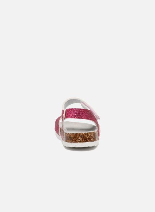 Sandalen Colors of California Bio Laminated Sandals Roze rechts