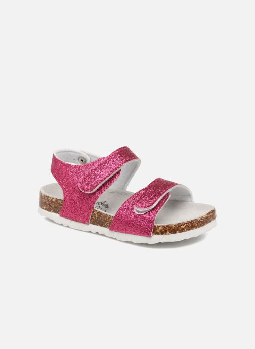 Sandales et nu-pieds Colors of California Bio Laminated Sandals Rose vue détail/paire