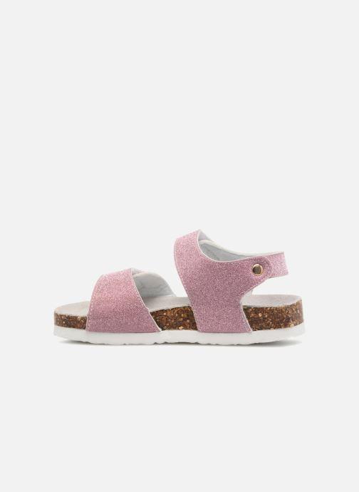 Sandalias Colors of California Bio Laminated Sandals Rosa vista de frente