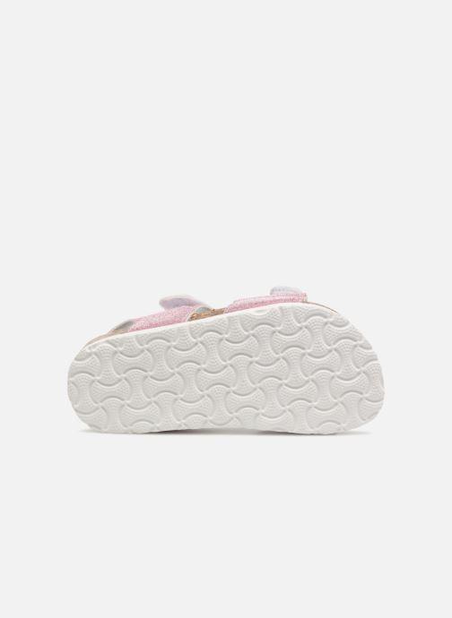 Sandales et nu-pieds Colors of California Bio Laminated Sandals Rose vue haut