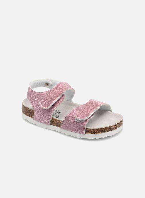Sandales et nu-pieds Colors of California Bio Laminated Sandals Rose vue détail/paire