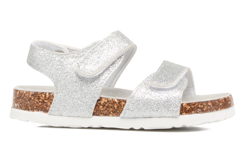 Sandali e scarpe aperte Colors of California Bio Laminated Sandals Argento immagine posteriore
