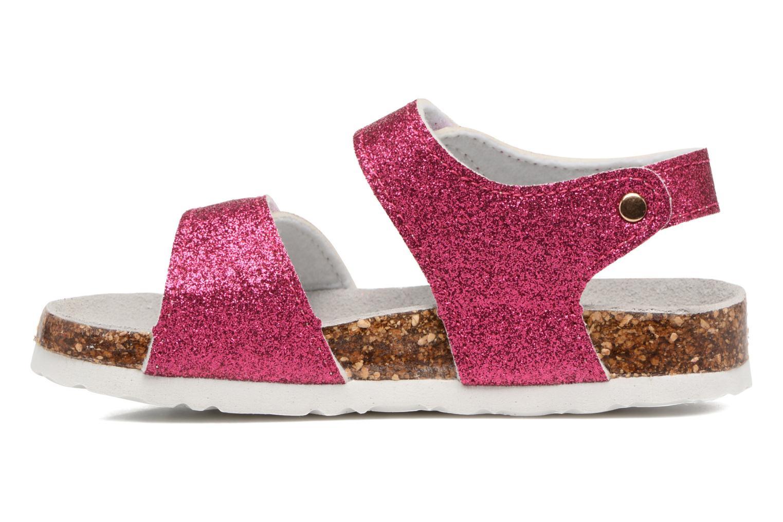 Sandali e scarpe aperte Colors of California Bio Laminated Sandals Rosa immagine frontale