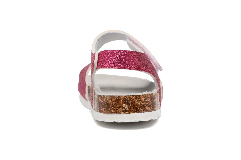 Sandali e scarpe aperte Colors of California Bio Laminated Sandals Rosa immagine destra