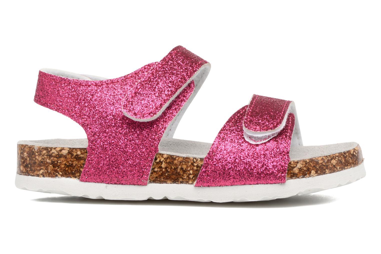 Sandali e scarpe aperte Colors of California Bio Laminated Sandals Rosa immagine posteriore