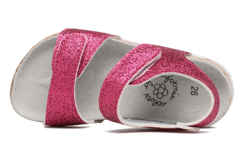Sandali e scarpe aperte Colors of California Bio Laminated Sandals Rosa immagine sinistra