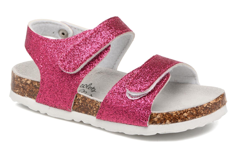 Sandali e scarpe aperte Colors of California Bio Laminated Sandals Rosa vedi dettaglio/paio