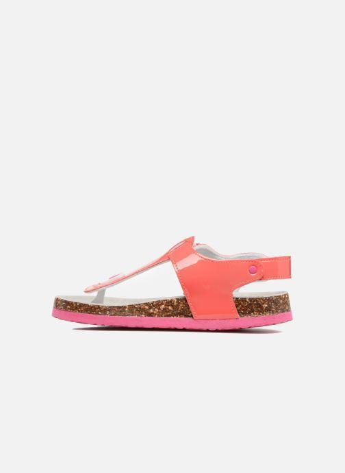 Sandales et nu-pieds Colors of California Bio Flip Flop Rose vue face