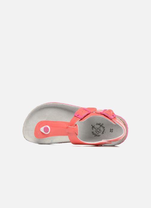 Sandales et nu-pieds Colors of California Bio Flip Flop Rose vue gauche