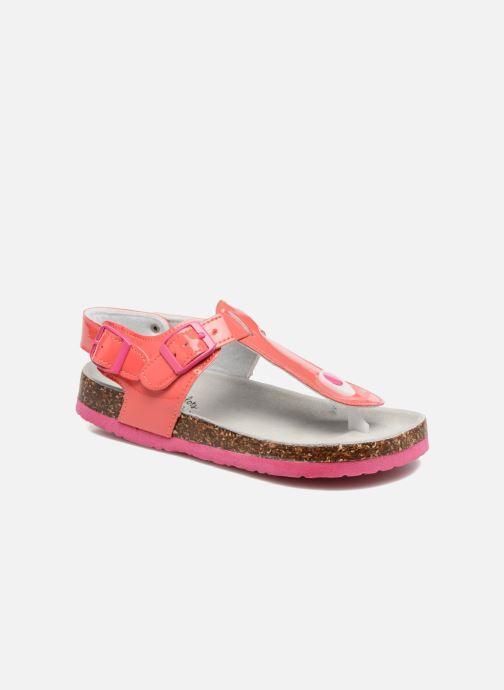 Sandales et nu-pieds Colors of California Bio Flip Flop Rose vue détail/paire