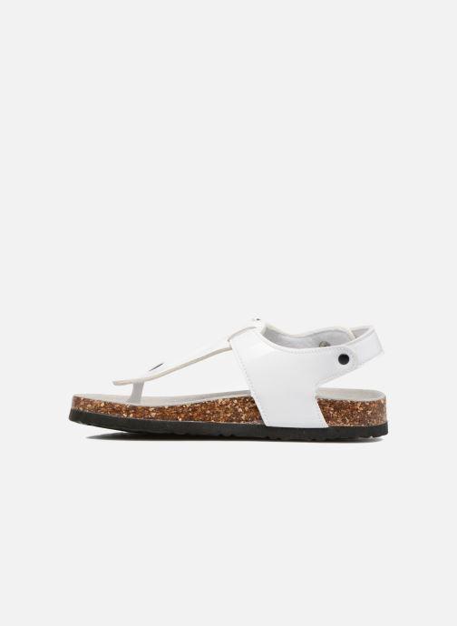Sandales et nu-pieds Colors of California Bio Flip Flop Blanc vue face