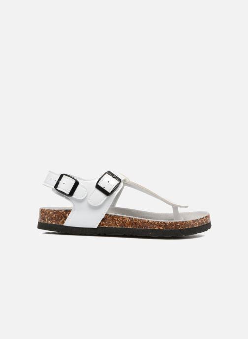 Sandalias Colors of California Bio Flip Flop Blanco vistra trasera