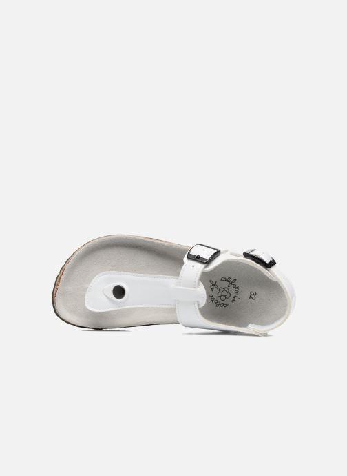 Sandales et nu-pieds Colors of California Bio Flip Flop Blanc vue gauche