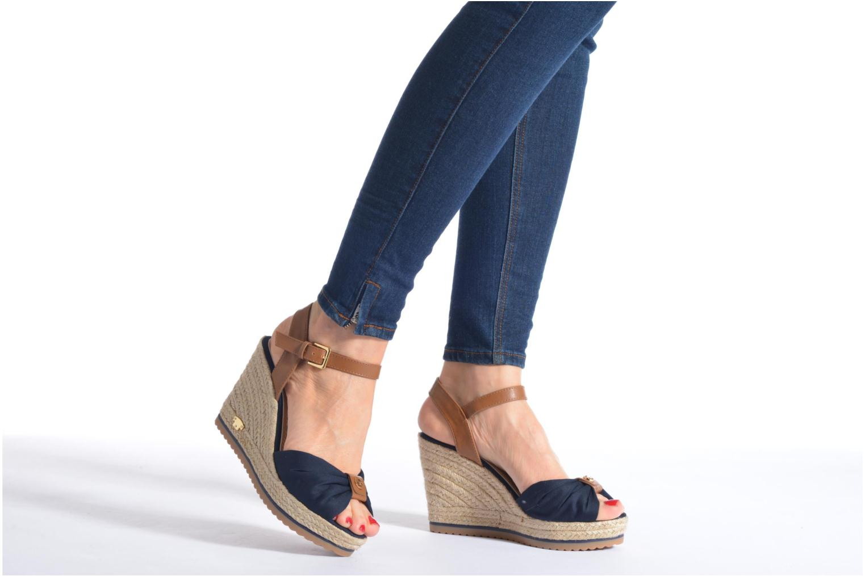 Sandales et nu-pieds Tom Tailor Lou Bleu vue bas / vue portée sac
