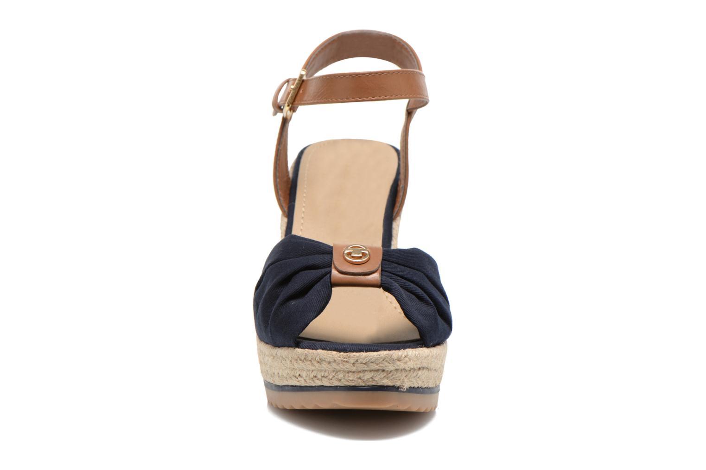 Sandales et nu-pieds Tom Tailor Lou Bleu vue portées chaussures