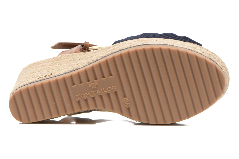 Sandales et nu-pieds Tom Tailor Lou Bleu vue haut