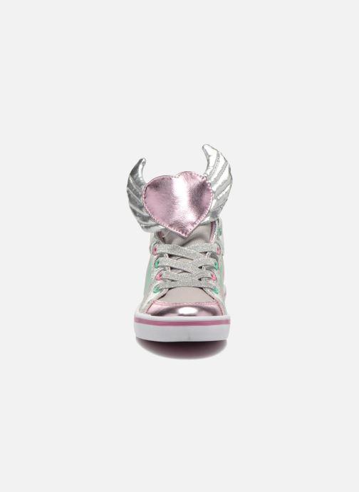 Sneakers Feiyue Delta Mid Novelty Grigio modello indossato