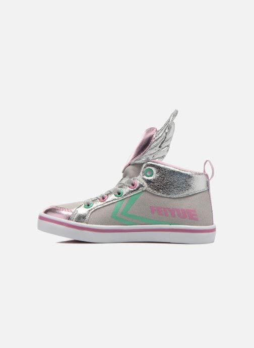 Sneakers Feiyue Delta Mid Novelty Grijs voorkant