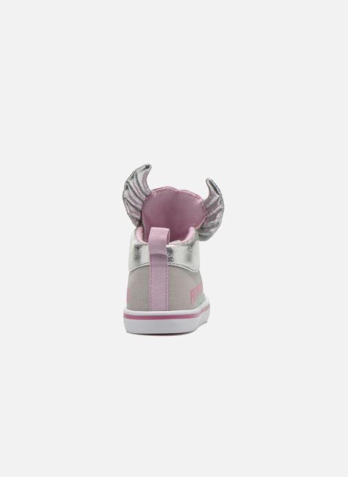 Sneakers Feiyue Delta Mid Novelty Grijs rechts