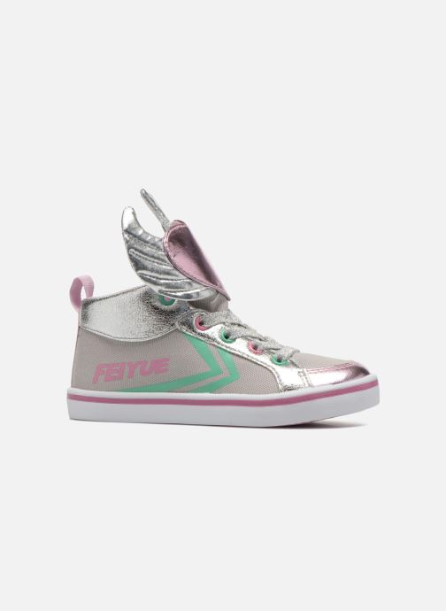 Sneakers Feiyue Delta Mid Novelty Grijs achterkant