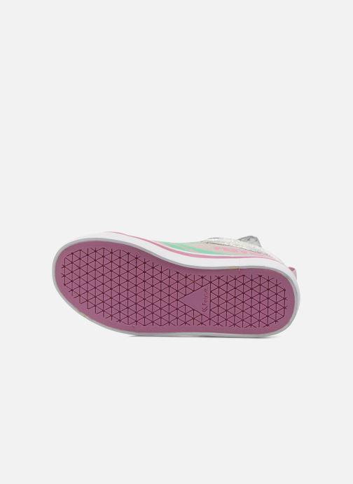 Sneakers Feiyue Delta Mid Novelty Grigio immagine dall'alto