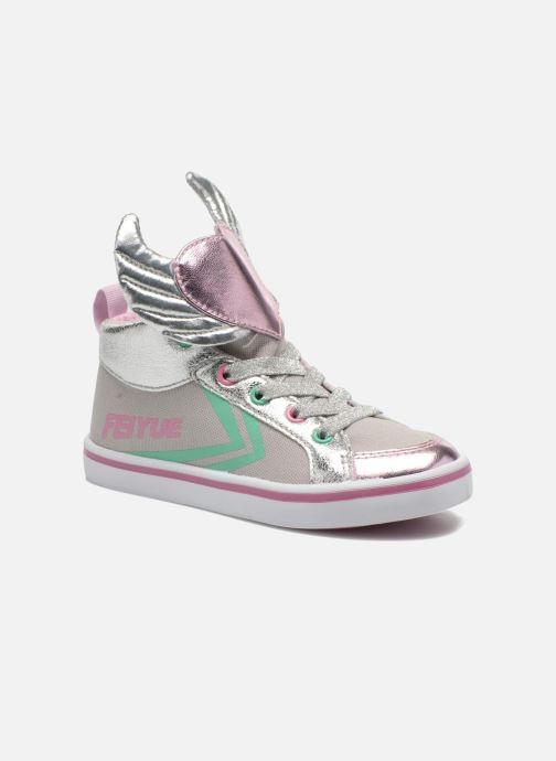 Sneakers Feiyue Delta Mid Novelty Grijs detail