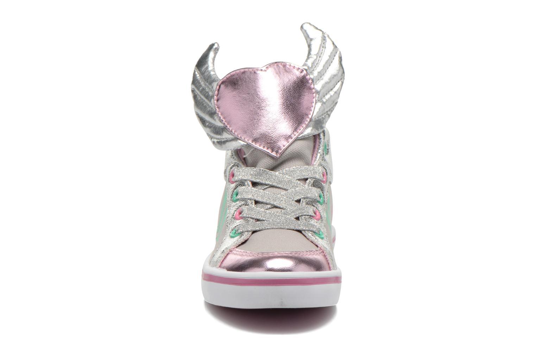 Baskets Feiyue Delta Mid Novelty Gris vue portées chaussures