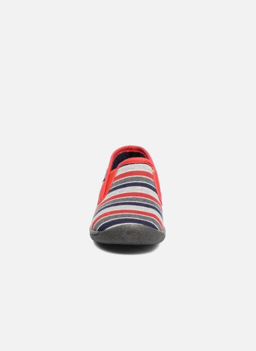 Pantofole Rondinaud Jimmy Grigio modello indossato