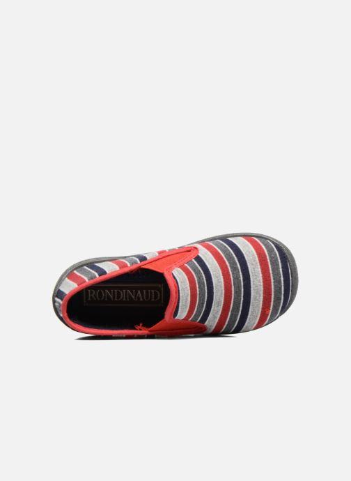 Pantofole Rondinaud Jimmy Grigio immagine sinistra