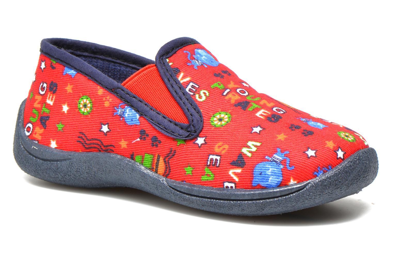 Pantoffels Rondinaud Jimmy Rood detail